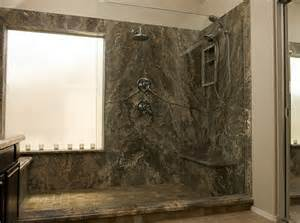 Rock and stone shower pictures to pin on pinterest