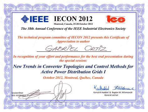 conference  awards power electronic systems