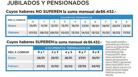 cronograma de medio aguinaldo de pensionados del 2016 cronograma de junio 2016 a jubilados y pensionados de la