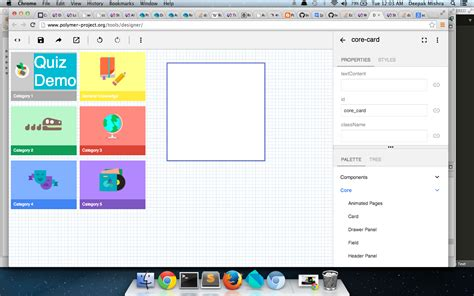 layout elements polymer dart how to draw a grid of cards elements with polymer