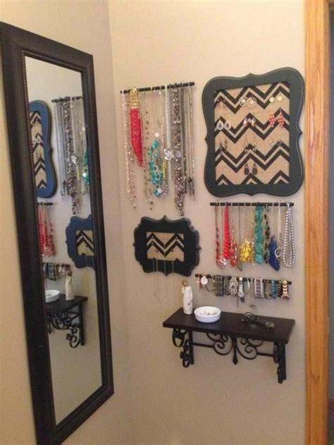 jewelry organization ideas diy jewelry display ideas