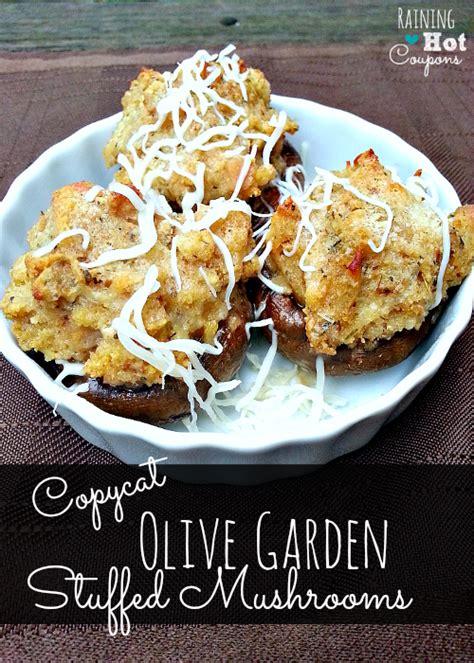 Olive Garden Stuffed Mushrooms Recipe by Copycat Olive Garden Stuffed Mushrooms Recipe