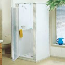 free standing shower stall with door e l mustee sons 80 82 durastall 174 shower stall with