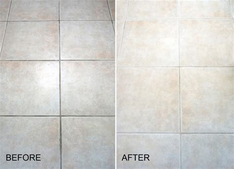 How To Clean Floor Tile Grout In Bathroom by Does Cleaning Grout With Baking Soda And Vinegar Really Work