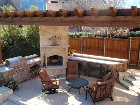 southwest fence deck outdoor living space traditional