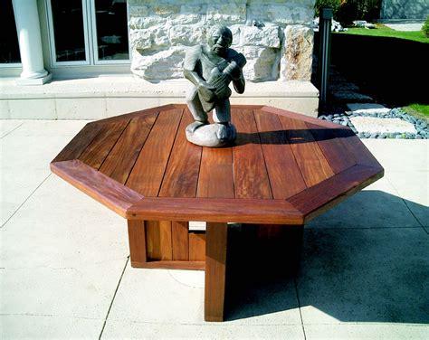 52 dining table 52 quot octagonal dining table bottega handmade outdoor