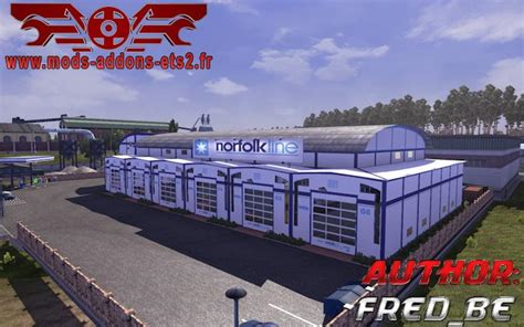 custom large garage ets 2 mods ets2downloads garage custom skin pack modhub us