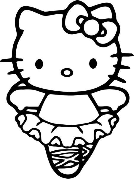 hello kitty logo coloring pages hello kitty ballerina vinyl decal sticker