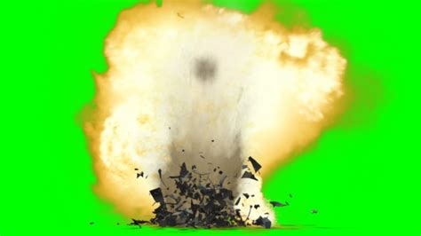 House Animated Gif by Bomb Ground Explosion Effect Green Screen With Sound Youtube
