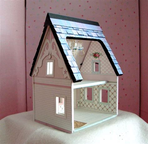dollhouse quarter dollhouse miniature a printable paper dollhouse in quarter