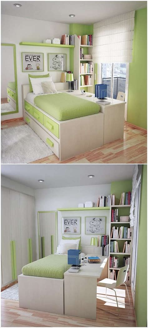 bedroom desks for teenagers put study desk along the bed so that it doubles as a