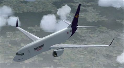 southwest cargo boeing 737 800 for fsx