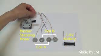 How To Drive A Stepping Motor Running Without Driver Circuit