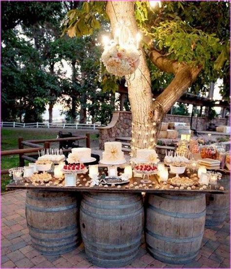 inspirational backyard wedding reception ideas on a budget