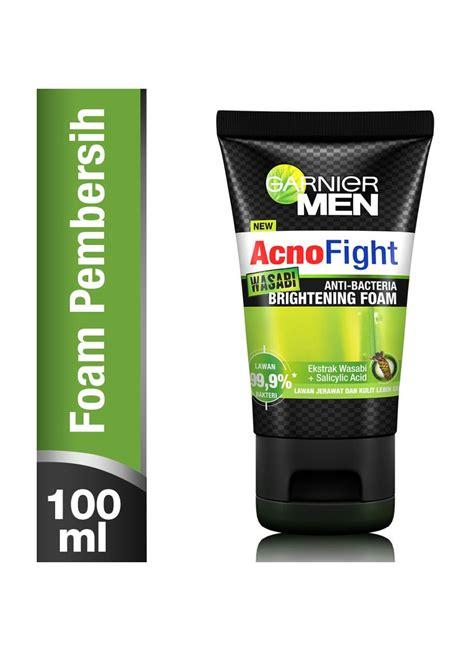 Pakaian Pria Fight garnier acno fight wasabi foam tub 100ml klikindomaret