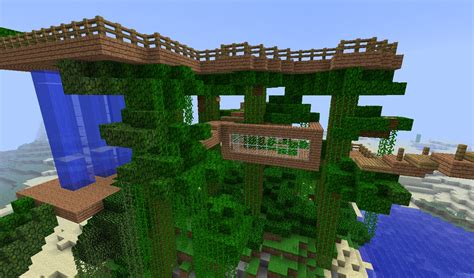 minecraft tree houses minecraft tree house