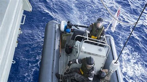 inflatable boats darwin australian navy frigate hmas darwin has seized and