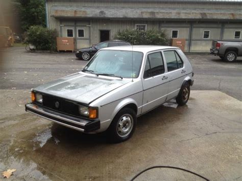volkswagen diesel rabbit 1984 vw rabbit 4 door diesel hatchback buy classic volks