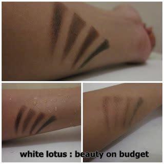 Inez Eye Brow Pencil white lotus on budget november 2011