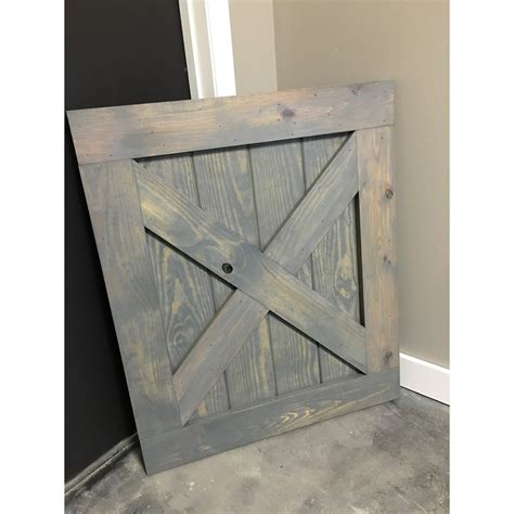 Custom Built Barn Door Style Baby Gate Classic Barn Door Gate