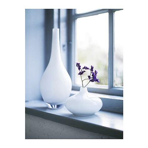 White Vases Ikea salong vase white 31 cm ikea