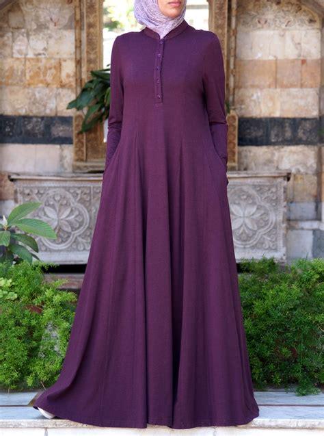 Gamis Maxi Dress Muslim Baju Xl Jumbo Bigsize Syari Syari I shirtdress abaya with godets abayas