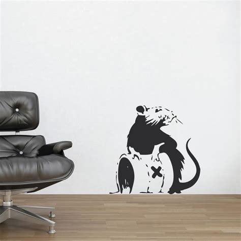 banksy wall stickers uk banksy wall stickers banksy rat poison wall decal vinyl uk stickers by