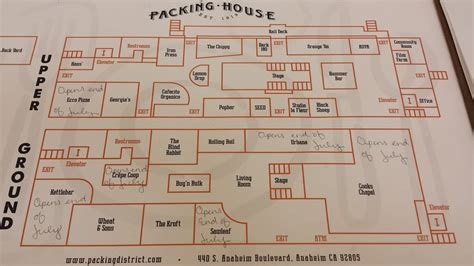 layout packing house map yelp