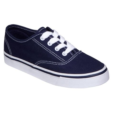 and boys shoes joe boxer boy s casual canvas shoe logan navy