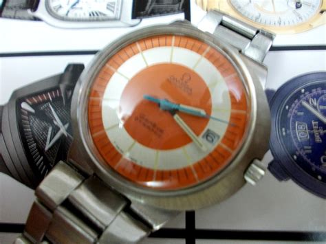 Cermin Acrylic s treasure chest of time pieces sold authentic vintage omega dynamic gents wristwatch