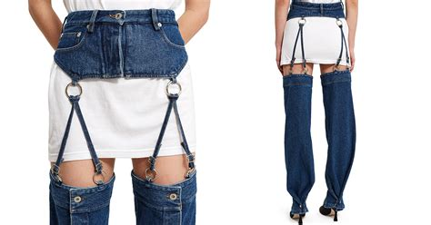 Denim Overalls The Next Big Trend by Detachable Are The Denim Trend Nobody Asked For