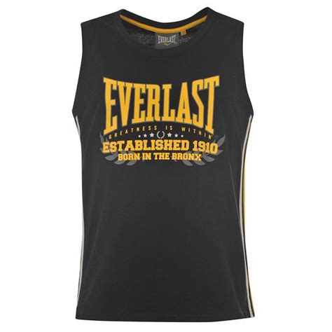 T Shirt Everlast One Tshirt Rodp everlast classic vest t shirt mens sleeveless