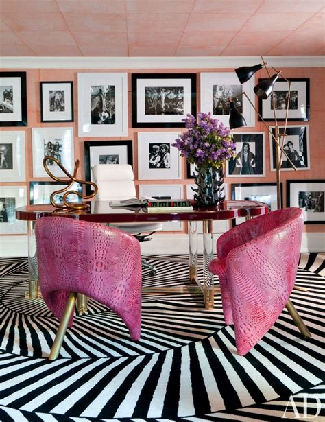 pink and black home decor home inspiration ideas best kelly wearstler interiors