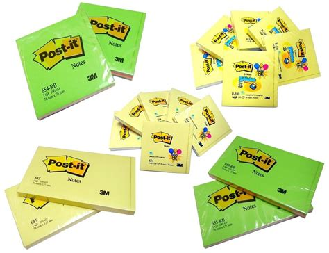 Post It 3m 654 By Kby Shop by Original 3m Post It Notes Z Notes 654 654rb 655 655rb