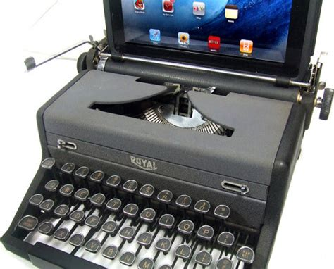 Usb Desk Accessories with Usb Typewriter Computer Keyboard Royal Desk Accessories By Etsy