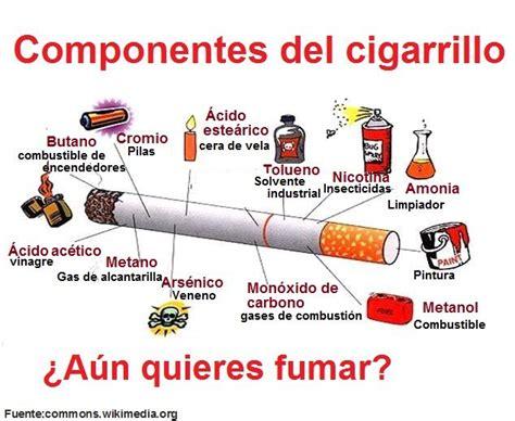 que sustancias tiene el cigarro y sus efectos perjudiciales 58 best images about fumar no alimentatubienestar on
