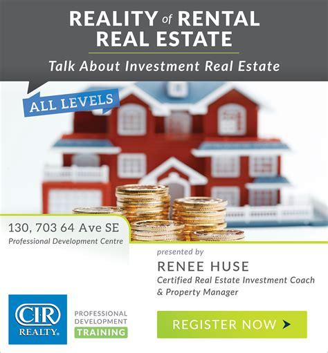 rental realtor reality of rental real estate cir realty