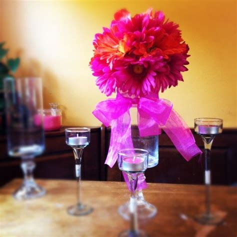 dollar tree centerpiece center pieces pinterest