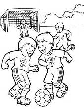 football soccer coloring pages for children neymar match