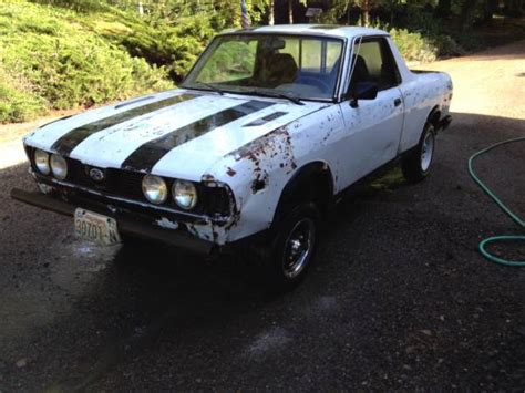 subaru brat for sale craigslist 1980 subaru brat for sale in seattle wa
