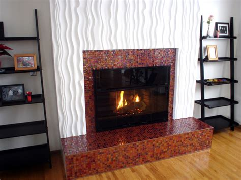 how to resurface a fireplace surround with decorative
