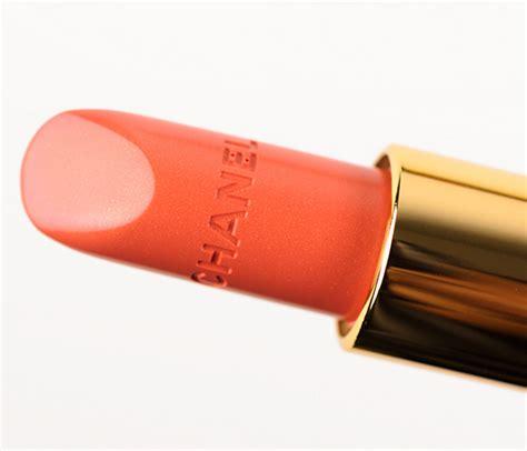 Chanel Lipstick Orange chanel pimpante lipstick review photos swatches