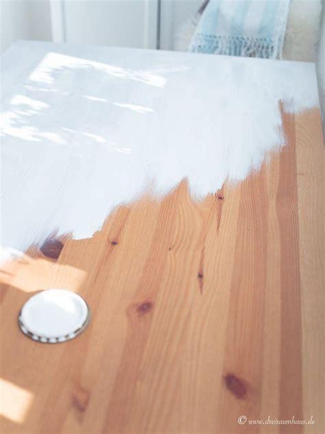 ikea tisch abschleifen tisch streichen ohne schleifen ein diy mit farrow