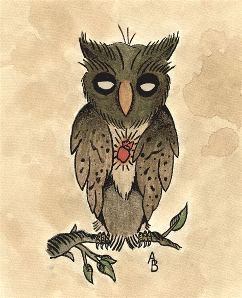 owl tattoo flash traditional owl flash