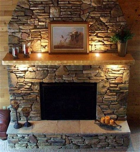 Decorative Tile Inserts Kitchen Backsplash by Up Lighting In The Mantle Is Genius Mental Note For The