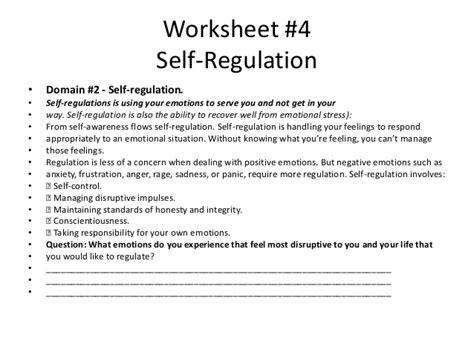 Emotional Regulation Worksheets by Worksheets Emotion Regulation Worksheet Opossumsoft