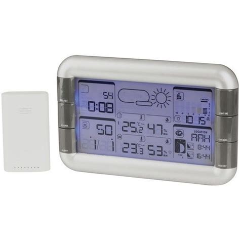 wireless weather station with outdoor sensor
