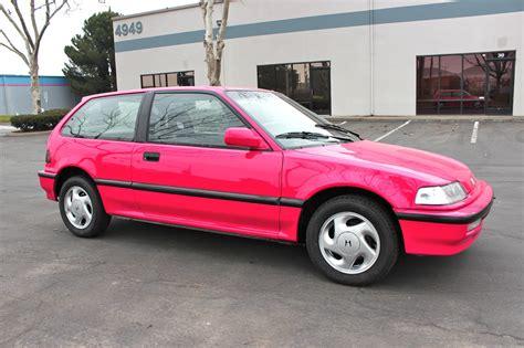 vintage honda civic 1991 honda civic si hatchback 3 door 1 6l ef classic