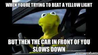 Kermit The Frog Meme Driving - kermit driving