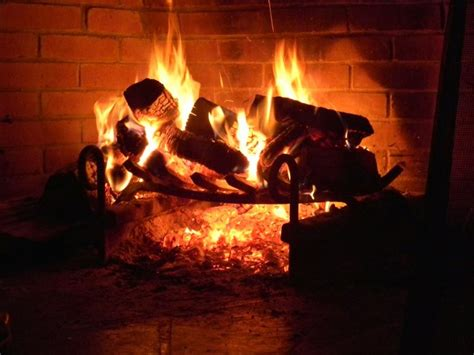 Relaxing Fireplace by Relaxing By The Fireplace Autumn